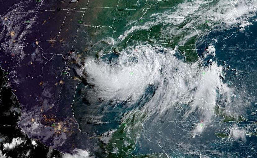 El huracán, categoría 1, está por tocar tierra en Louisiana. (Foto: cortesía)