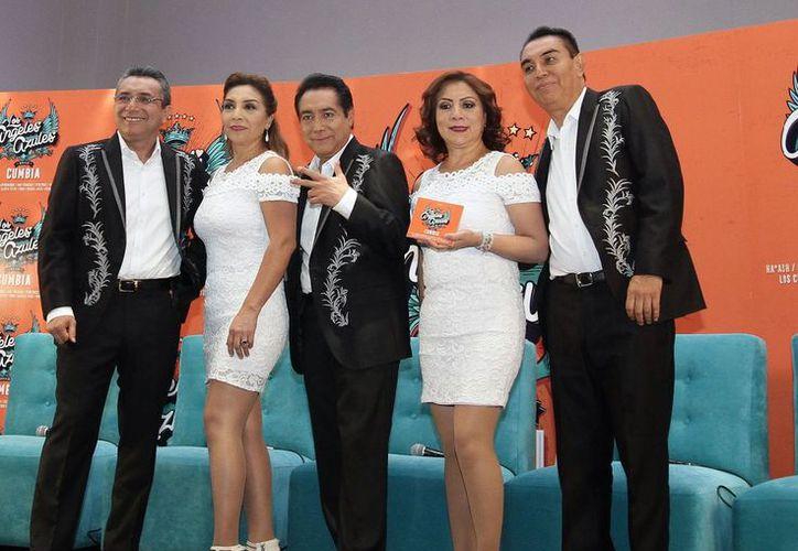 Estrenan discografía Los Ángeles Azules. (Foto: Notimex)
