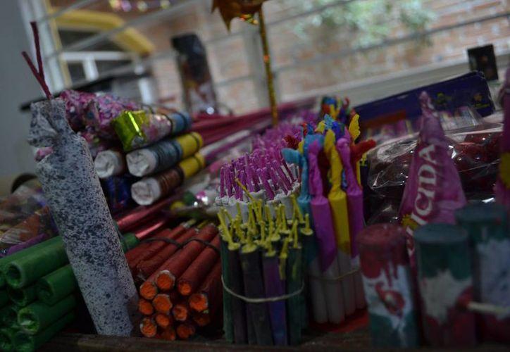 En Tultepec se celebra cada año en el mes de marzo la Feria Nacional de la Pirotecnia. (Notimex)