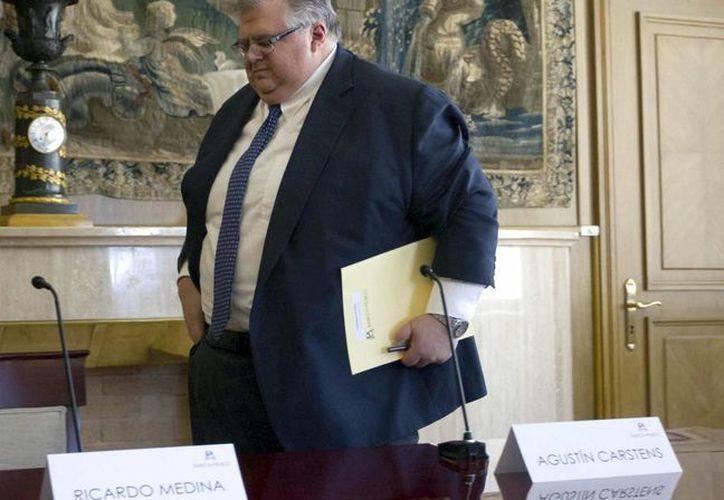 Agustín Carstens reconoció que en enero el país sufrió un alza importante en inflación. (Notimex)