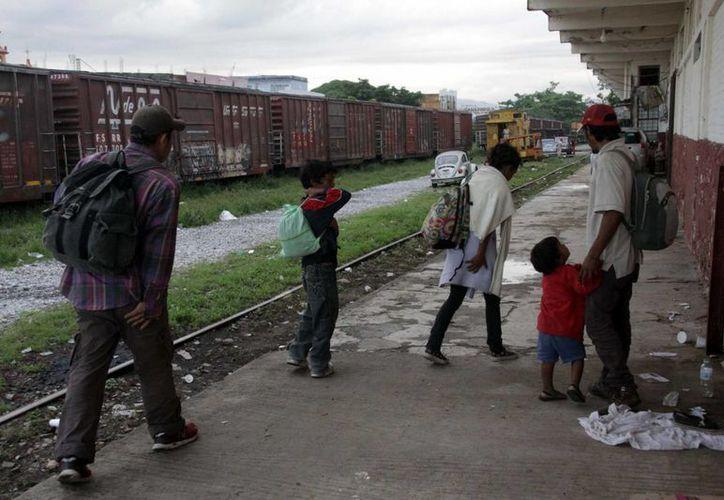 Los migrantes fueron asistidos por personal del INM. (Archivo/Notimex)