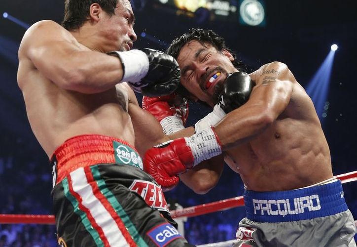 Pacquiao fue derrotado por nocaut por primera vez al pelear contra Márquez. (Agencias)