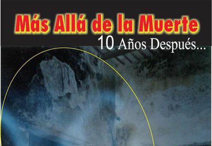Esta es la portada del nuevo libro de Jorge Moreno, que se entregará este martes en la conferencia de la Gira Paranormal, en el teatro Fantasio de Mérida. (Jorge Moreno/Milenio Novedades)