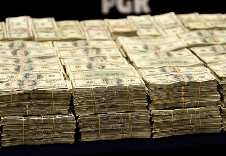 Las reservas bajaron 47 millones de dólares. (Notimex)