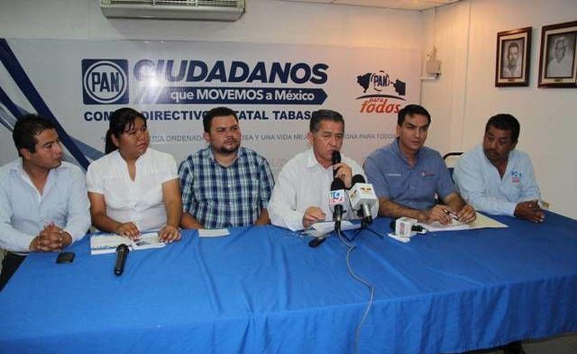 El PAN tabasqueño respaldó las acciones del Gobierno y la PGJE. (pantabasco.mx)
