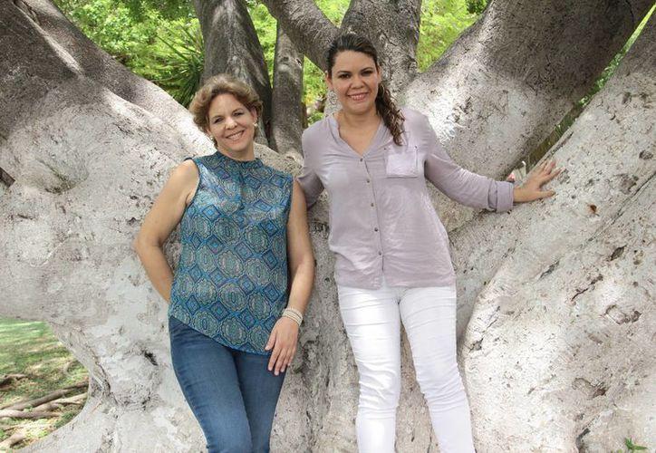 Imagen de la soprano Rossana Chin (der), y la pianista cubana Zuleika Díaz que se presentarán en la Biblioteca Central 'Manuel Cepeda Peraza', (Jorge Acosta/SIPSE)