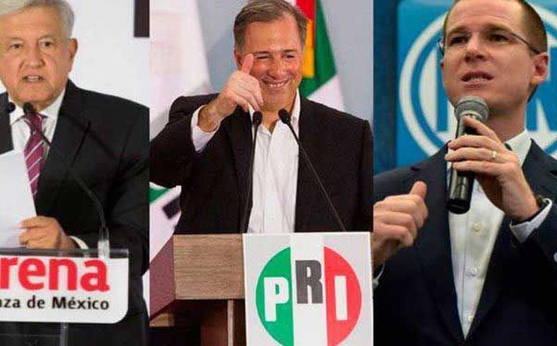 Los tres candidatos participaron en la de la Reunión Plenaria de Consejeros de Citibanamex. (Internet)
