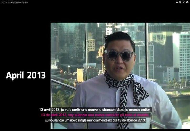 El rapero sudcoreano hizo el anuncio a través de su canal oficial de YouTube. (YouTube)
