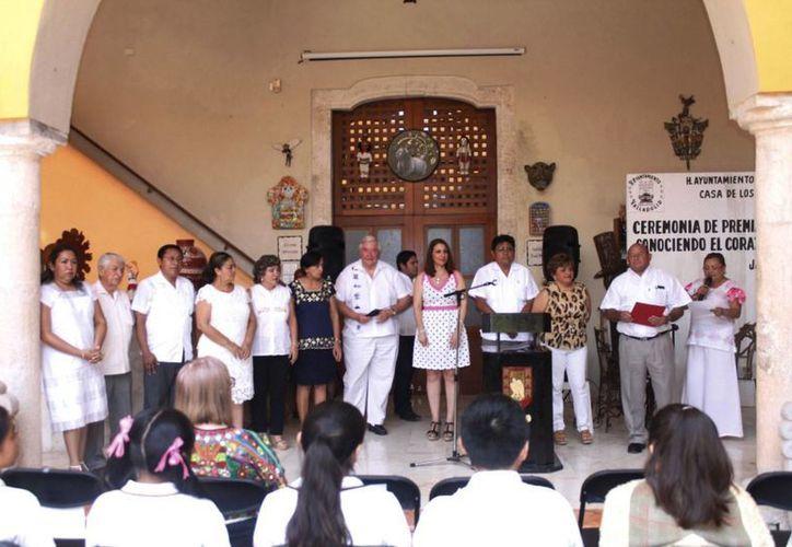 El concurso 'Conociendo el corazón de México', fue organizado por el Ayuntamiento de Valladolid. (Fotos cortesía)