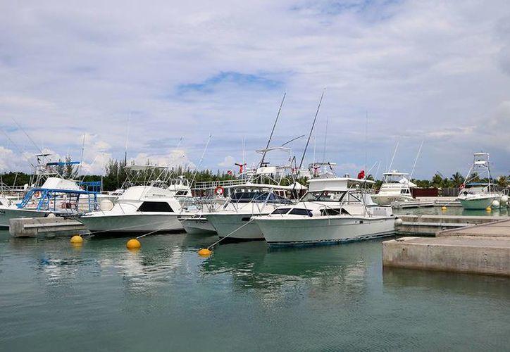 La Marina de Cozumel se desarrolla en una superficie de 24 hectáreas, con capacidad para 333 embarcaciones. (Redacción/SIPSE)