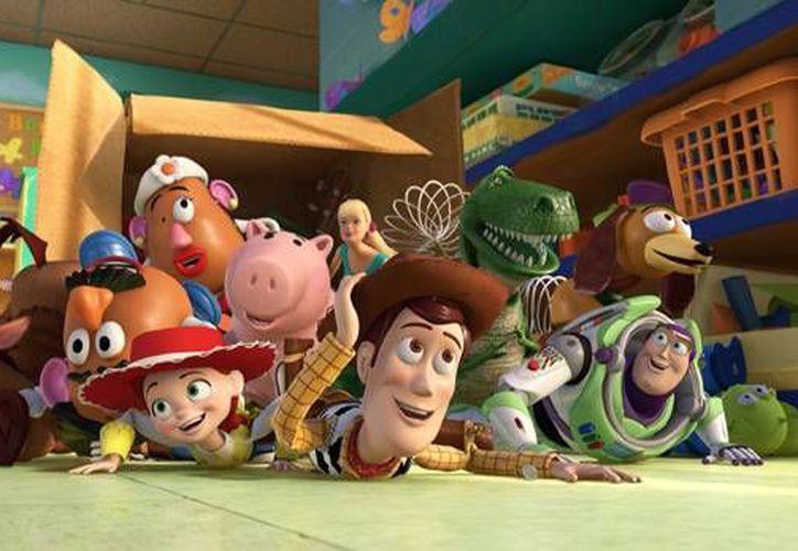 En esta gráfica se aprecia una de las escenas de Toy Story 3, que llegó a los cines en 2010. (difusion/pixar)