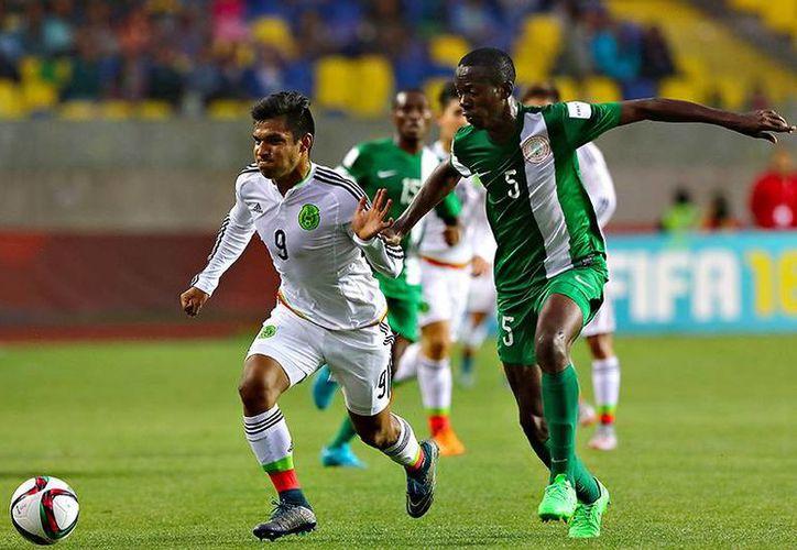 México empezó ganando el partido de semifinal del Mundial sub-17 contra Nigeria, que dio la vuelta y se impuso 4-2. (futboltotal.com.mx)