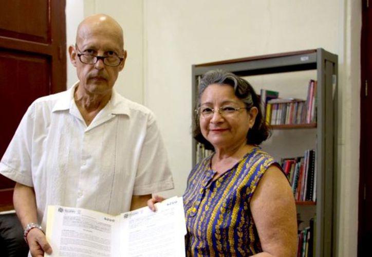 Javier Álvarez Fuentes y María Alicia Martínez Medrano. (Novedades Yucatán)