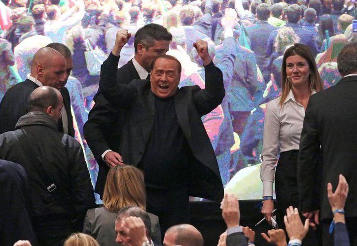 Berlusconi hizo estas afirmaciones durante su participación en un acto organizado por el movimiento juvenil de su partido. (EFE)