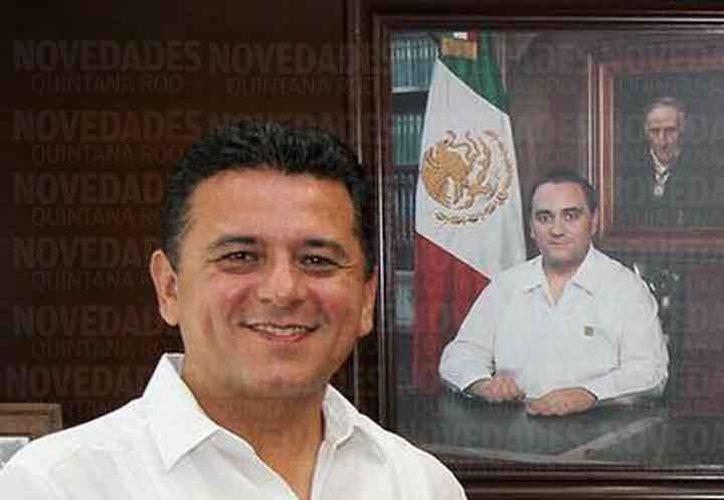 Fredy Marrufo Martín estuvo a cargo  de la isla de Cozumel de 2013 a 2016.  (Archivo SIPSE)