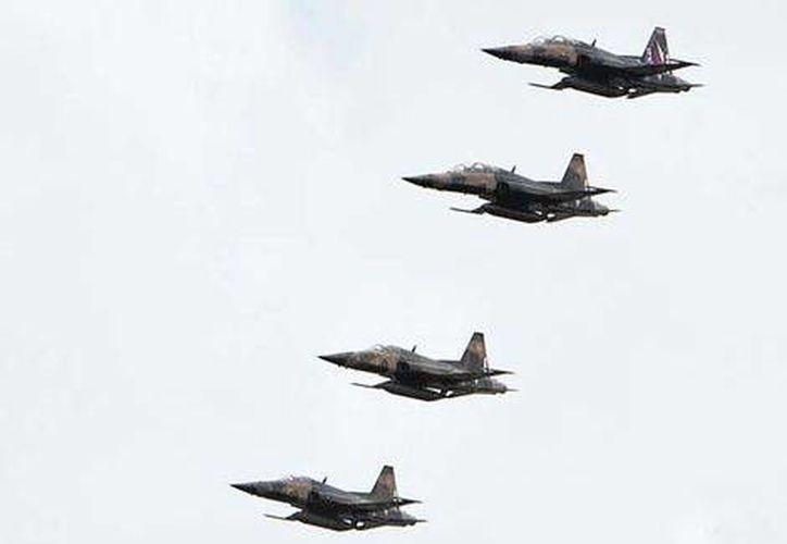 La flota aérea será modernizada con la compra de aviones C295. (Daniel Cruz/Milenio)