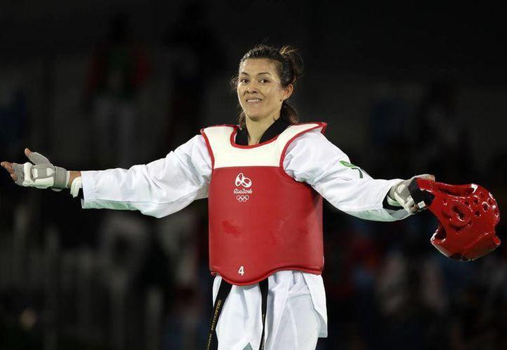 La mexicana buscará la medalla de Oro, este sábado en la noche. La mexicana suma tres medallas en Juegos Olímpicos consecutivos.(Andrew Medichini/AP)