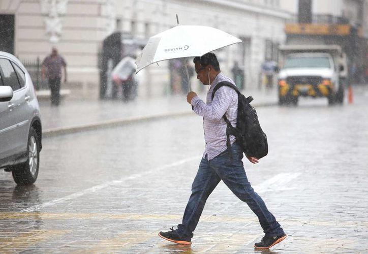 En Nuevo León, Coahuila, Querétaro, Campeche y Yucatán se esperan lluvias fuertes. (Archivo/Notimex)
