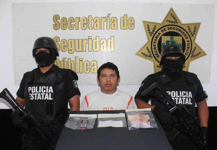 José Humberto Balam Cámara fue atrapado en calles del centro de Mérida. (SIPSE)