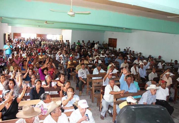 Alrededor de 470 ejidatarios conforman Laguna Om. (Edgardo  Rodríguez/SIPSE)