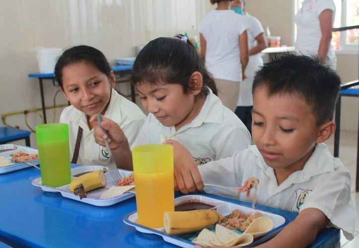 Espacios mejor acondicionados y confortables son los resultados de los trabajos de rehabilitación que se hicieron en beneficio de la infancia cozumeleña. (Redacción/SIPSE)