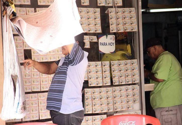 Esta semana, dos premios mayores de la Lotería Nacional cayeron en Yucatán. Se repartieron, en menos de 72 horas, 13.5 millones de pesos. (Archivo/SIPSE)