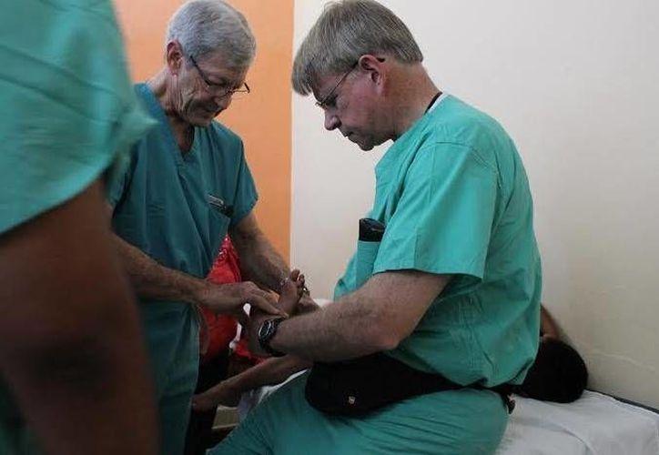 Médicos podiatras regresaron a Yucatán por segunda ocasión en este 2015. (Óscar Pérez/SIPSE)