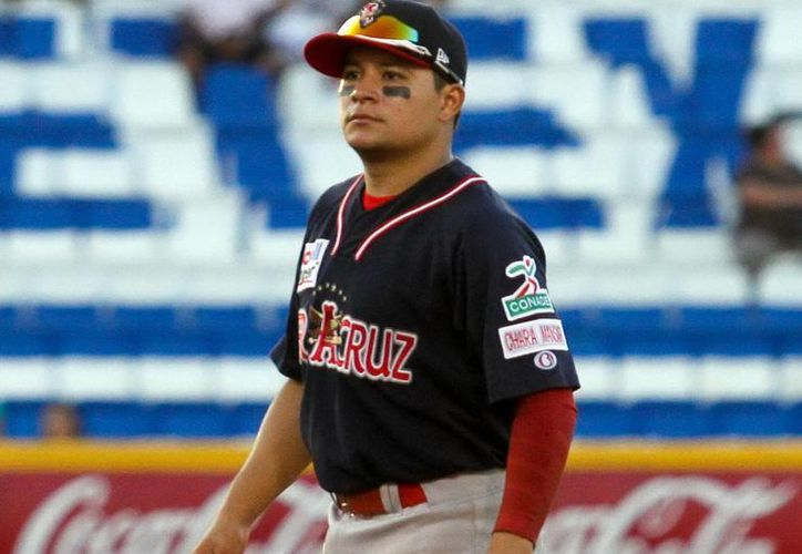 Alex es hijo de Géner Rivero, quien es considerado una leyenda dentro de Leones de Yucatán. (Amílcar Rodríguez/Milenio Novedades)