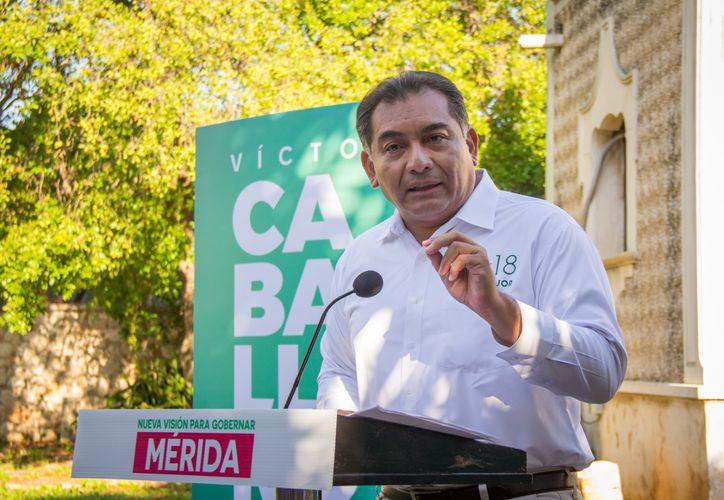 Mérida rechaza la reelección, pide gobierno moderno con visión de futuro: Víctor Caballero. (Milenio Novedades)