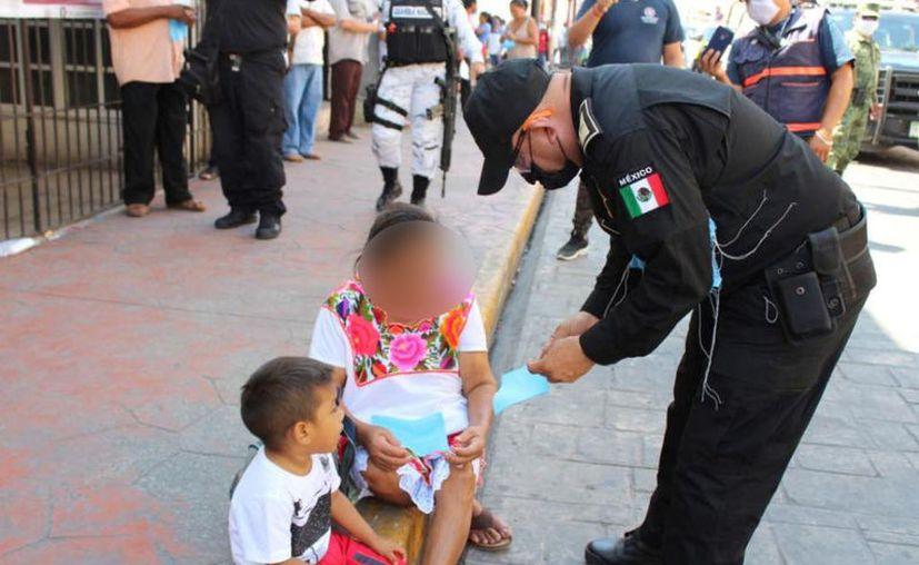 El alcalde aseveró que ya instruyó al director de Policía Municipal para que dicho uniformado tenga la asistencia que requiere. (Foto: Ayuntamiento de Valladolid)