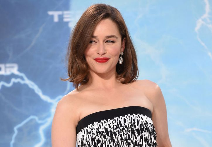 Emilia Clarke será la imagen de Dolce & Gabanna. (Just Jared)