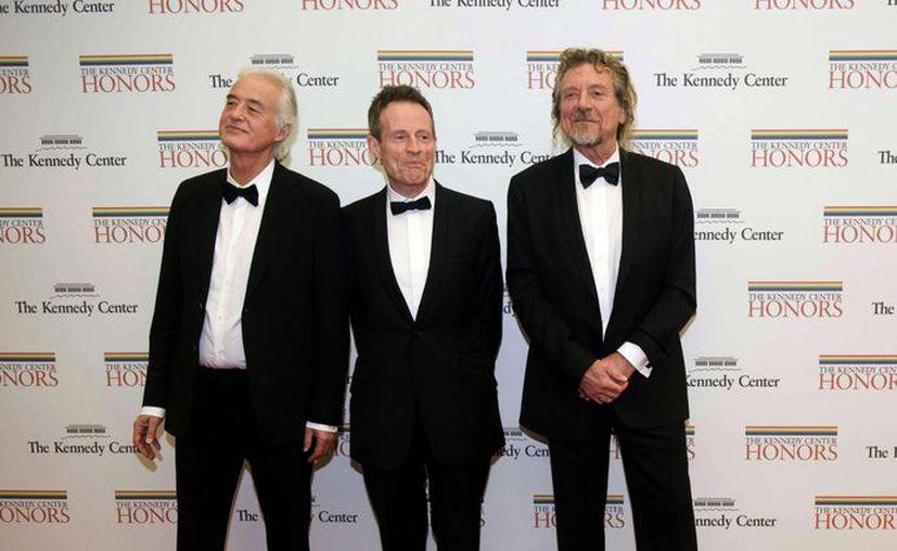 El trío tendrá una aparición el lunes en el programa nocturno de David Letterman en CBS. (Agencias)