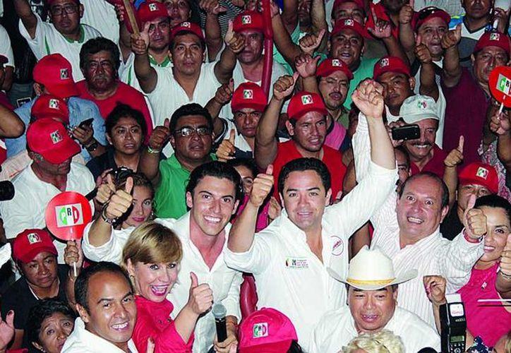 En las elecciones del 7 de junio de 2015 la coalición PRI-PVEM se colocó al frente en los Distritos 01, 02 y 03. (Redacción/SIPSE)