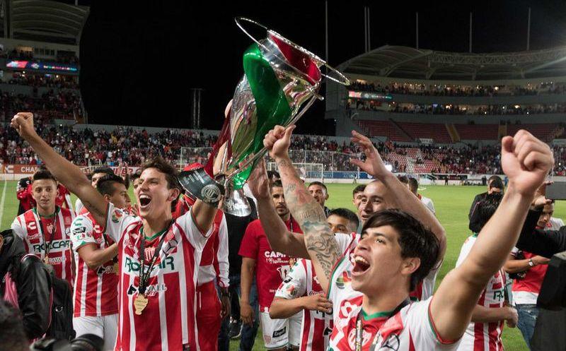 Chivas felicitó a Necaxa por su consagración en la Copa MX