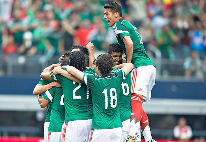 La selección mexicana contó con plantilla casi en su totalidad de elementos de la Liga MX. (Contexto/Internet)