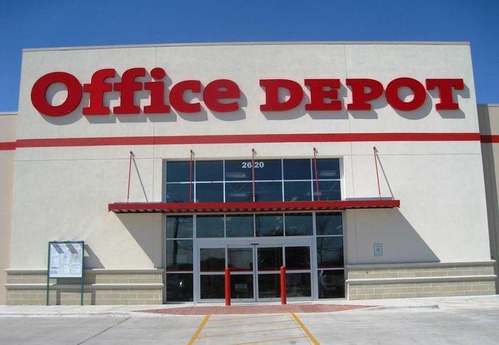 Office Depot se consolida como una de las principales emporios de artículos de oficina. (Agencias)