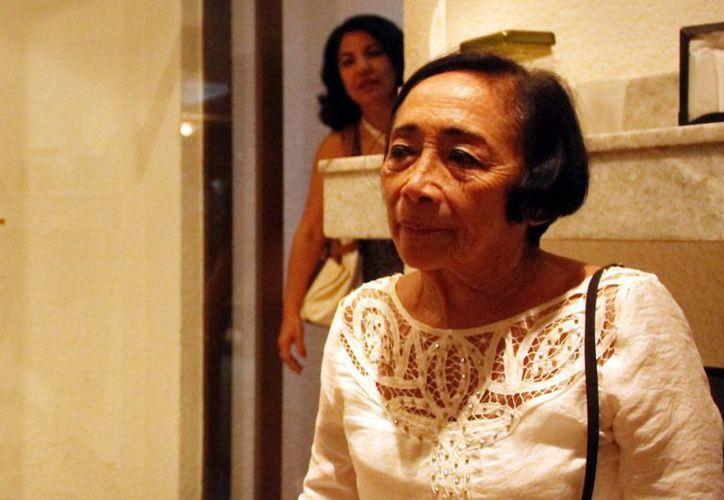 Socorro Cerón admiró la tenacidad de Nicté-Ha Herrero Cerón. (Milenio Novedades)