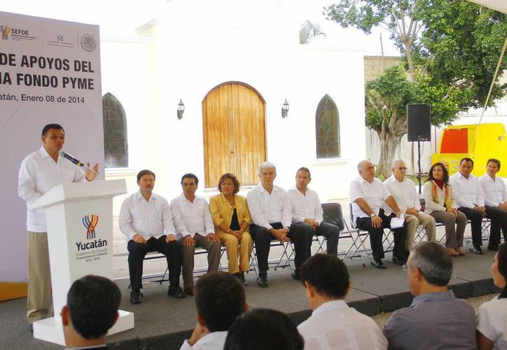 El gobernador de Yucatán, Rolando Zapata Bello, consideró que apostar por las empresas es trabajar por 'nuevos empleos de alta calidad'. (SIPSE)