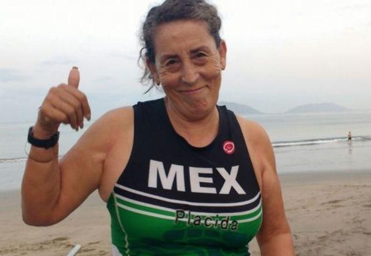 Plácida Villegas le dio el oro a México, al concluir la Gran Final de la Unión Internacional de Triatlón en Rotterdam, Holanda. (Línea directa)