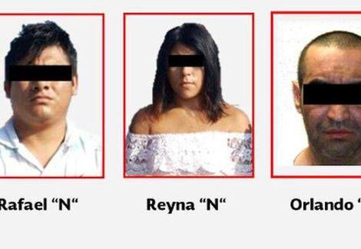 Las tres personas fueron detenidas el lunes en dos operativos distintos en Veracruz. (Milenio)