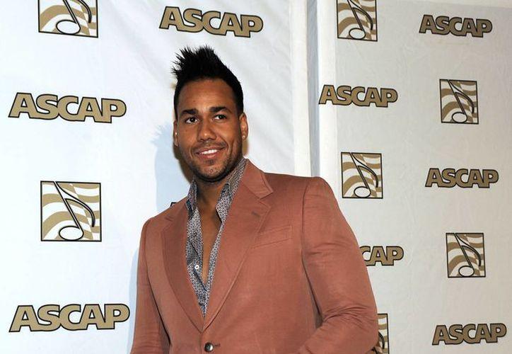 Anthony Romeo Santos, a su llegada a la entrega de los premios ASCAP a la Música Latina. (Agencias)