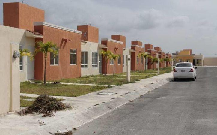 El tipo de casa que adquieren es económica que cuesta hasta 444 mil pesos, aunque la tradicional alcanzó 13%. (Redacción/SIPSE)