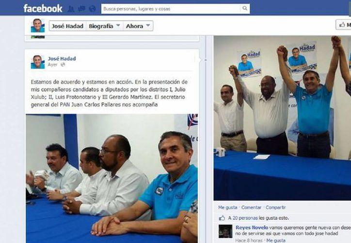 Hadad Estéfano cuenta con mil 44 seguidores en su cuenta de Facebook. (Redacción/SIPSE)