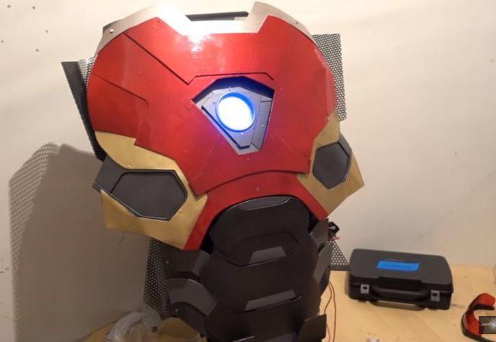 Crean armadura de Iron Man con láser capaz de fundir el acero