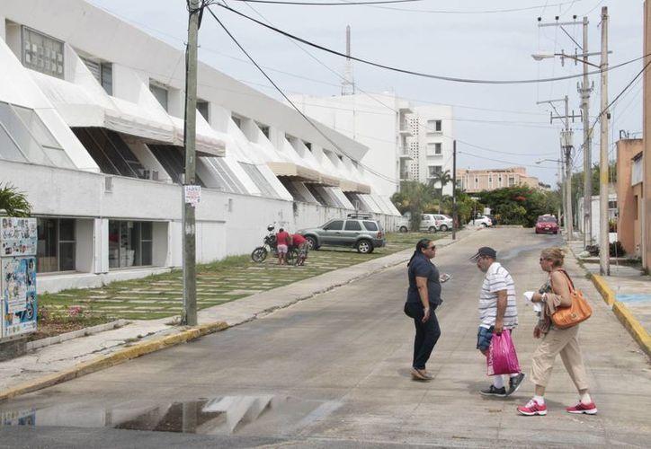 Los cambios en el primer cuadro de la ciudad continúan. (Tomás Álvarez/SIPSE)