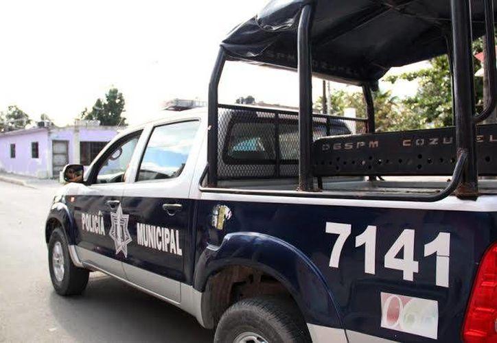 La Policía Municipal reforzó las labores de vigilancia. (Cortesía/SIPSE)