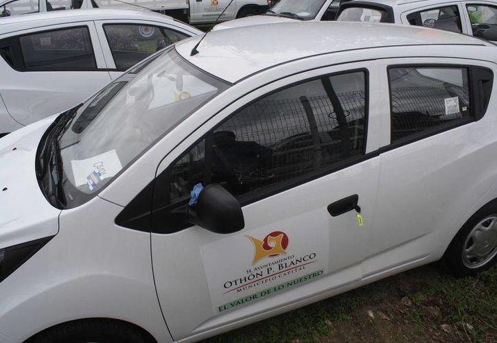 Las unidades se sumarán a los 180 vehículos ya existentes. (Harold Alcocer/SIPSE)