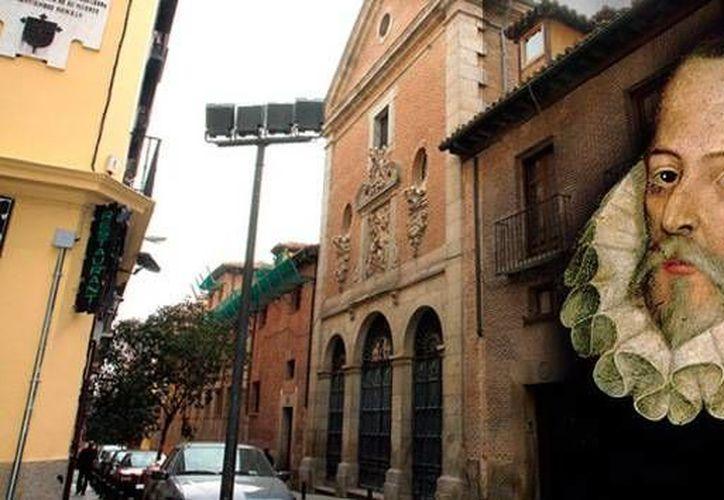 Hasta ahora se desconoce el lugar exacto de su tumba de  Miguel de Cervantes Saavedra en el convento.(RT/Reuters/AFP)