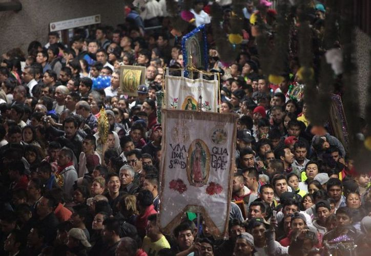 En el 486 Aniversario de la aparición de la Virgen de Guadalupe participaron siete millones 280 mil fieles. (@INBGuadalupe/Twitter)