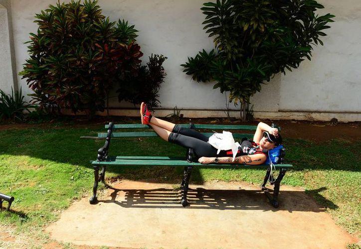 El domingo se registró una jornada calurosa en Mérida, capital de Yucatán. (Luis Pérez/SIPSE)